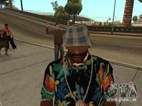 Chemise hawaïenne comme max Payne pour GTA San Andreas troisième écran
