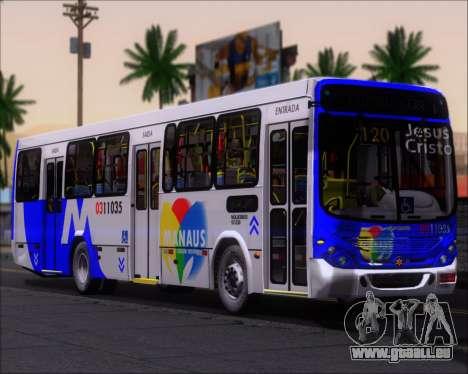 Marcopolo Torino 2007 Volksbus 17-230 EOD für GTA San Andreas zurück linke Ansicht