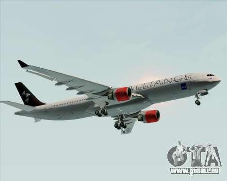 Airbus A330-300 SAS (Star Alliance Livery) für GTA San Andreas Seitenansicht
