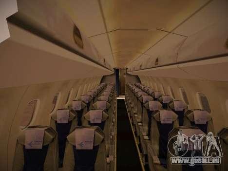 Embraer E190 TRIP Linhas Aereas Brasileira für GTA San Andreas Seitenansicht