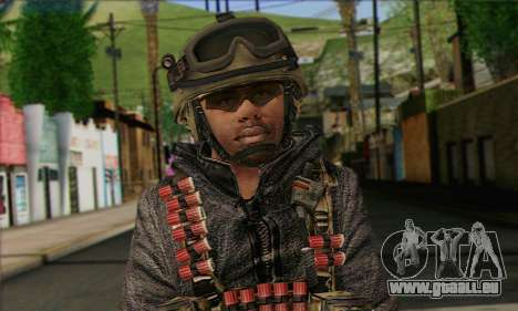 Task Force 141 (CoD: MW 2) Skin 10 für GTA San Andreas dritten Screenshot