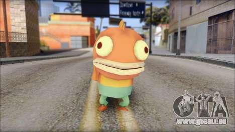 Boranfish from Sponge Bob für GTA San Andreas