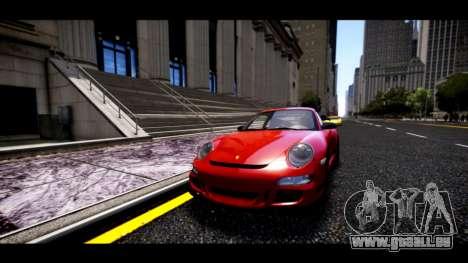 Porsche 911 GT3 RS pour GTA 4 Vue arrière