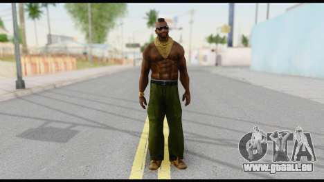 MR T Skin v3 pour GTA San Andreas