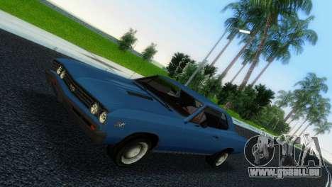 Chevrolet Chevelle SS 1967 für GTA Vice City linke Ansicht