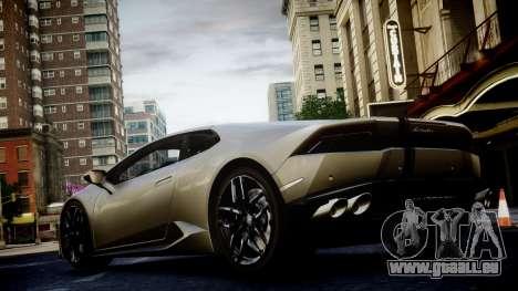 Lamborghini Huracan LP850-4 2014 Wheelsandmore für GTA 4 Innenansicht