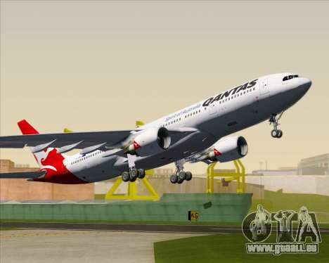 Airbus A330-200 Qantas für GTA San Andreas Innen