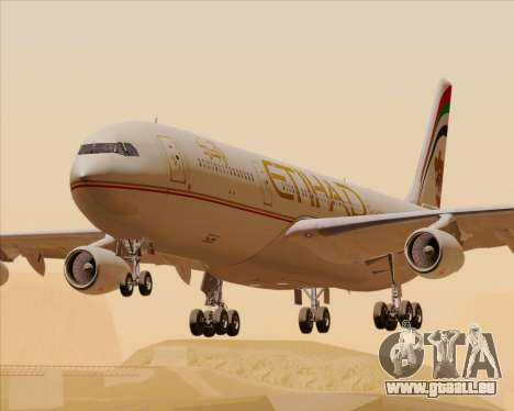Airbus A340-313 Etihad Airways pour GTA San Andreas