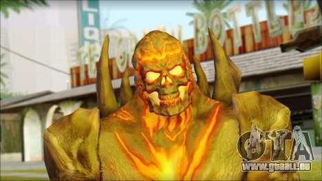 Dark Kahn from MK vs DC pour GTA San Andreas troisième écran