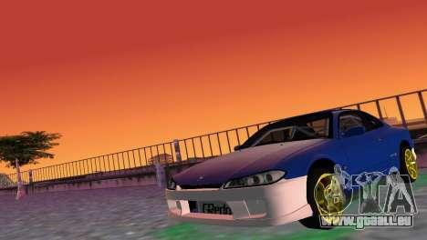 Nissan Silvia S15 TUNING JDM für GTA Vice City linke Ansicht
