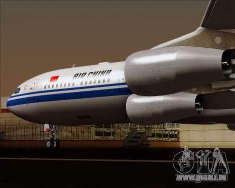 Airbus A340-313 Air China für GTA San Andreas Unteransicht