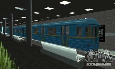 Une nouvelle station de métro de San Fierro pour GTA San Andreas deuxième écran