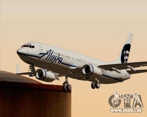 Boeing 737-890 Alaska Airlines für GTA San Andreas Räder