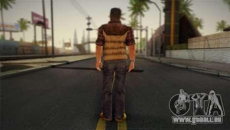 Travis Grady From Silent Hill: Origins für GTA San Andreas zweiten Screenshot