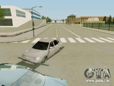 VAZ 2110 für GTA San Andreas Innenansicht