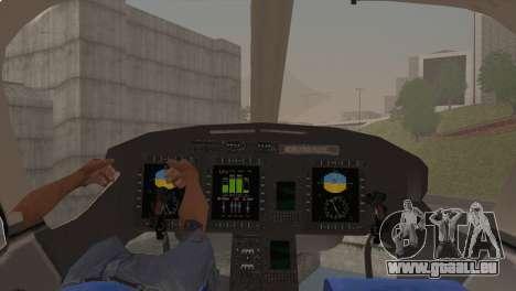 Bell 429 v1 pour GTA San Andreas vue de droite