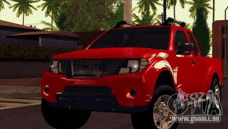 Nissan Frontier 2013 pour GTA San Andreas