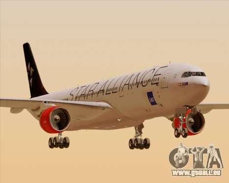 Airbus A330-300 SAS (Star Alliance Livery) für GTA San Andreas