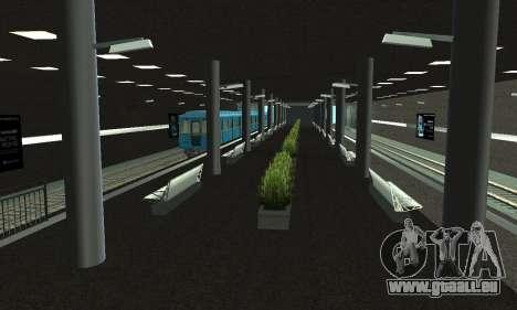 Eine neue U-Bahn-station in San Fierro für GTA San Andreas