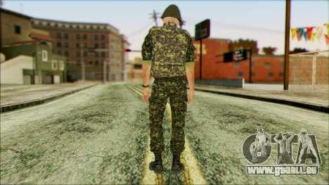 Marine APU v1 pour GTA San Andreas deuxième écran