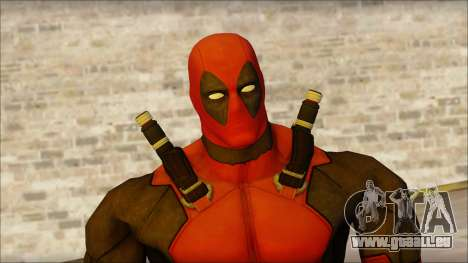Classic Deadpool The Game Cable für GTA San Andreas dritten Screenshot