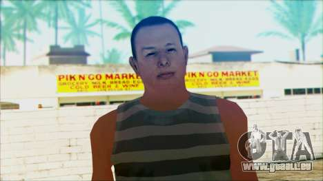 New Wmyjg pour GTA San Andreas troisième écran