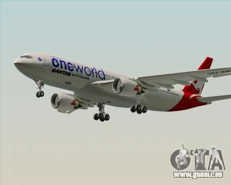 Airbus A330-200 Qantas Oneworld Livery pour GTA San Andreas vue de droite