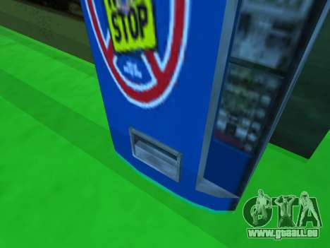 Maschine mit dem trinken Nicht Aufhören, von Sta für GTA San Andreas dritten Screenshot