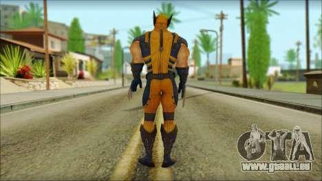 Wolverine Deadpool The Game Cable für GTA San Andreas zweiten Screenshot