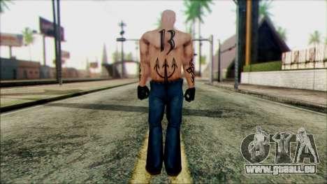 Manhunt Ped 5 pour GTA San Andreas deuxième écran