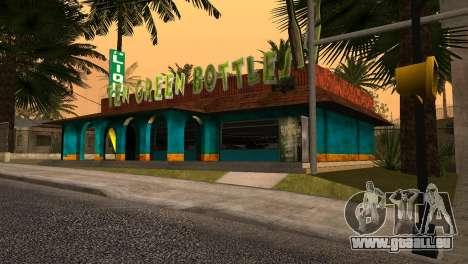 La nouvelle barre en Ganton pour GTA San Andreas deuxième écran
