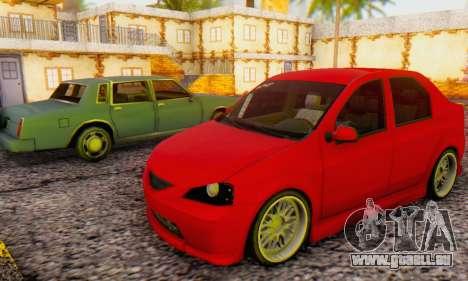 Dacia Logan B-61 pour GTA San Andreas