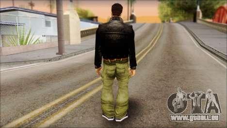 Shades Claude v2 pour GTA San Andreas deuxième écran
