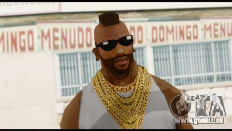 MR T Skin v4 für GTA San Andreas dritten Screenshot