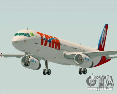 Airbus A321-200 TAM Airlines pour GTA San Andreas