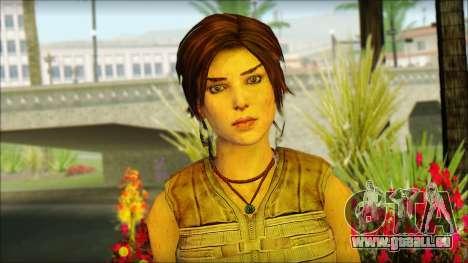 Tomb Raider Skin 15 2013 pour GTA San Andreas troisième écran