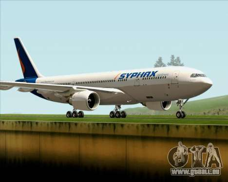 Airbus A330-200 Syphax Airlines für GTA San Andreas linke Ansicht