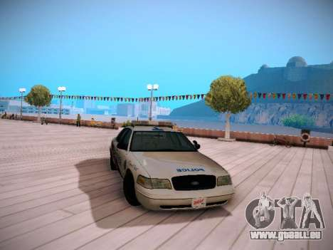 Ford Crown Victoria Toronto Police Service pour GTA San Andreas