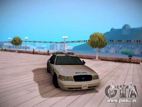 Ford Crown Victoria Toronto Police Service für GTA San Andreas