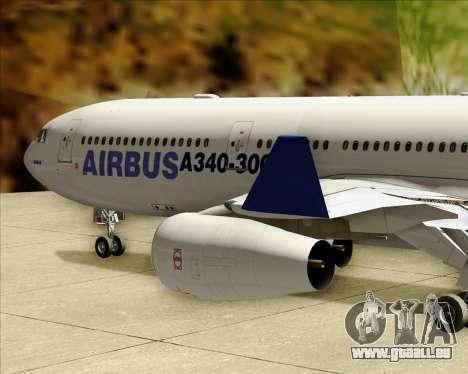 Airbus A340-311 House Colors pour GTA San Andreas vue de dessus