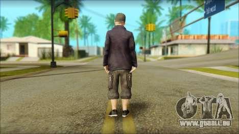 Fred Durst from Limp Bizkit v1 pour GTA San Andreas deuxième écran