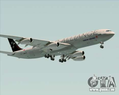 Airbus A340-311 Turkish Airlines (Star Alliance) pour GTA San Andreas salon
