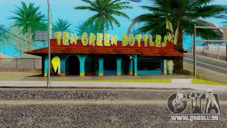 La nouvelle barre en Ganton pour GTA San Andreas sixième écran