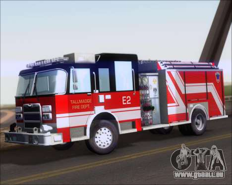 Pierce Arrow XT TFD Engine 2 für GTA San Andreas linke Ansicht
