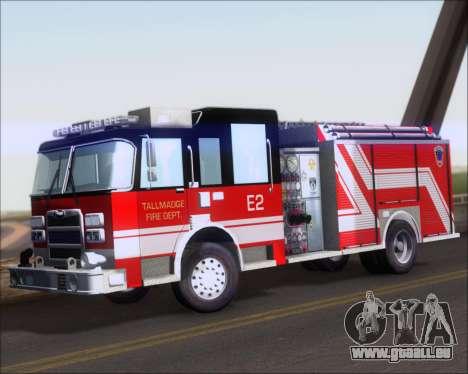 Pierce Arrow XT TFD Engine 2 für GTA San Andreas linke Ansicht