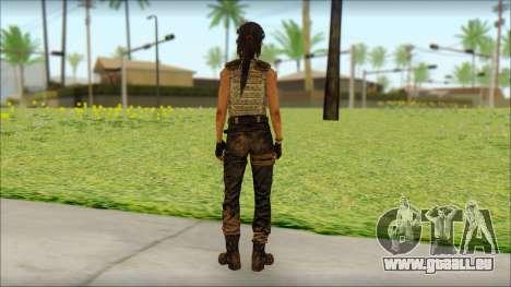 Tomb Raider Skin 15 2013 pour GTA San Andreas deuxième écran