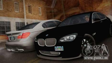 BMW F01 750Li 2009 für GTA San Andreas