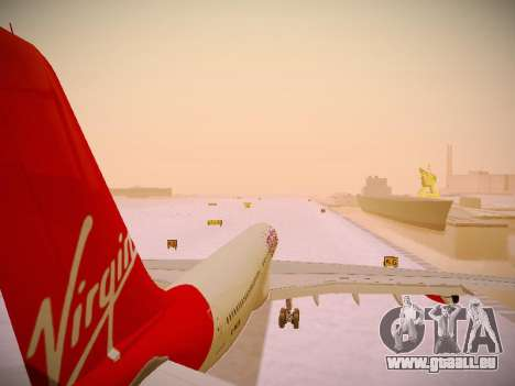 Airbus A340-300 Virgin Atlantic pour GTA San Andreas