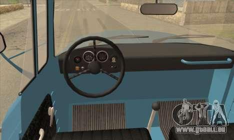 DAC 6135 R für GTA San Andreas zurück linke Ansicht