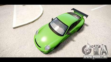 Porsche 911 GT3 RS pour GTA 4 est un droit